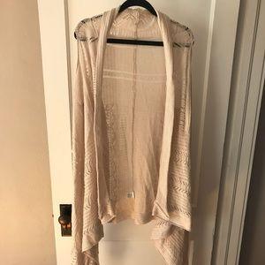 Easel Knit Draped Vest